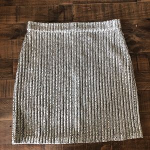 NBD Sequined Skirt Medium NWT